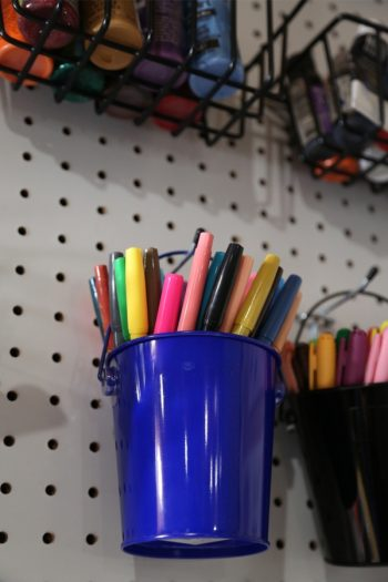 Here are some smart ways to keep your office organized. Use some or all of these office organizing hacks to keep on top of your stuff, your tasks, and everything office-related. Having a pegboard wall allows you can store anything you need on it. And the best part is, is that you can change it whenever needed.