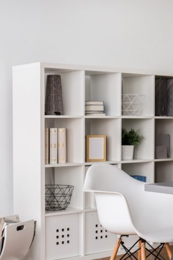 Here are some smart ways to keep your office organized. Use some or all of these office organizing hacks to keep on top of your stuff, your tasks, and everything office-related. Cubbies are always a great idea to stay organized.