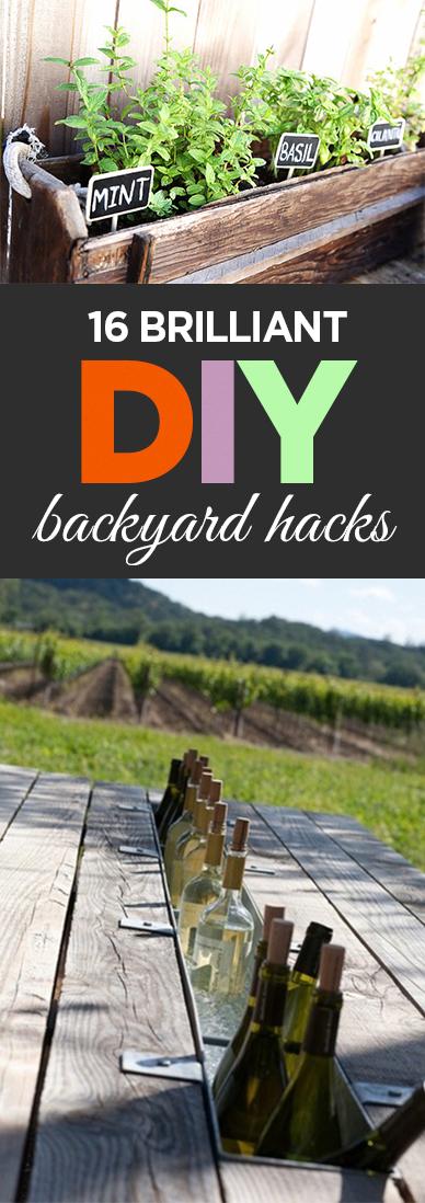 Outdoor living, DIY outdoor, outdoor hacks, DIY outdoor projects, popular pin, backyard DIY, easy backyard furniture.