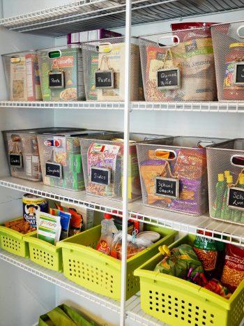 10 Ways to Maintain an Organized Pantry