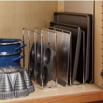 10 Ways to Organize Baking Pans8
