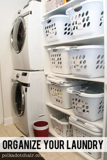 10 Ways to Organize Your Laundry Room10
