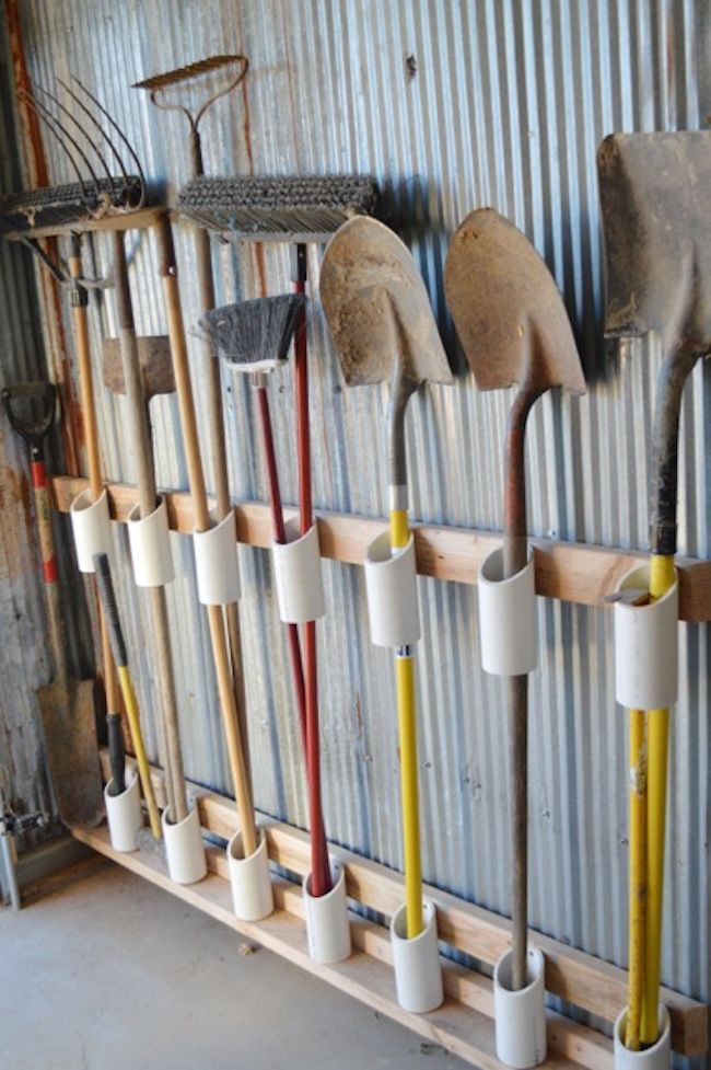 10 Ways to Organize with PVC Pipe2