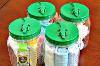 10 Ways to Use Mason Jars to Organize
