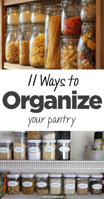 Pantry organization, how to organize a pantry, pantry organization options, kitchen organization, popular pin, DIY pantry organization, easy kitchen storage.