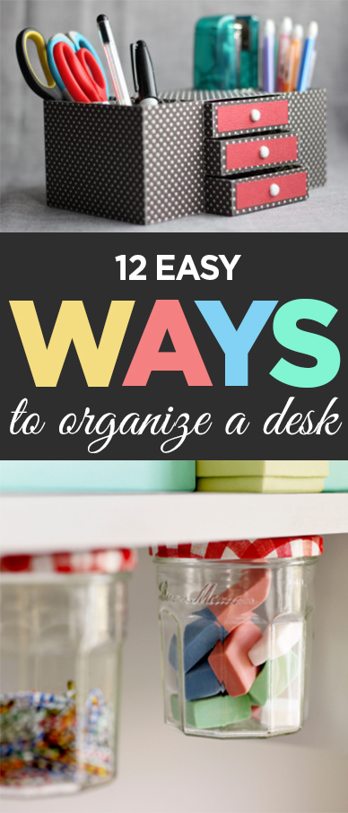 12 Easy Step By Step Natural Eye Make Up Tutorials For: 12 Easy Ways To Organize A Desk
