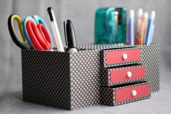 Desk Organization Ideas