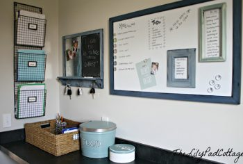 15 Incredible Command Centers (they'll get you organized!)13