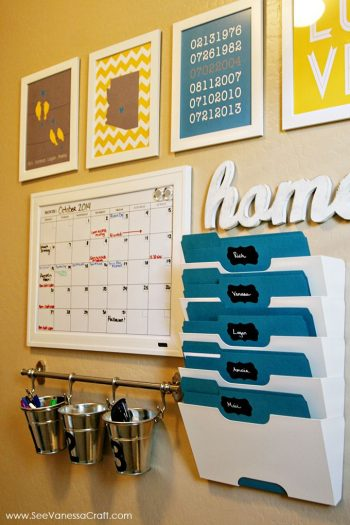 15 Incredible Command Centers (they'll get you organized!)4
