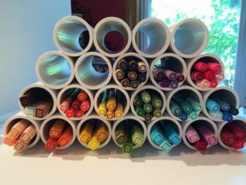 20 Genius Ways to Organize Your Craft Room
