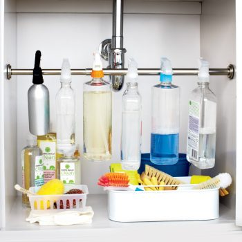 8 Easy Ways to Organize Under the Sink