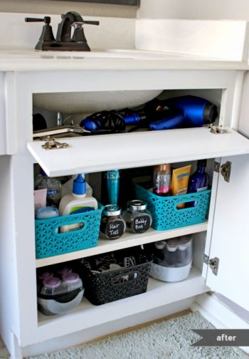 8 Easy Ways to Organize Under the Sink4