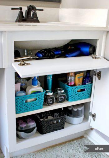 8 Easy Ways to Organize Under the Sink4