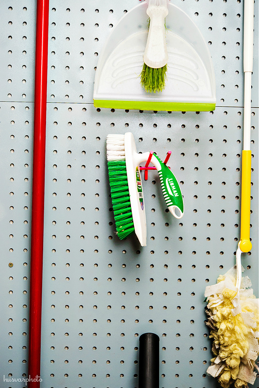 8 Ways to Organize With a Peg Board