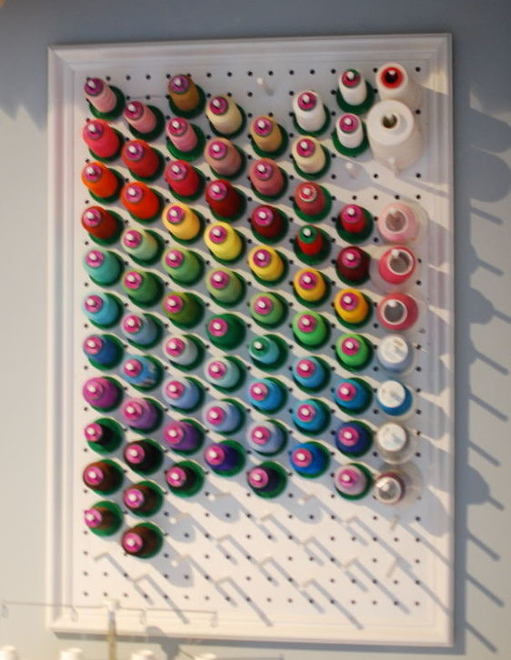 8 Ways to Organize With a Peg Board4