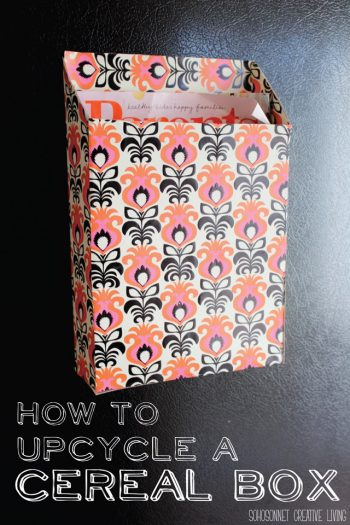 9 Incredible Ways to Use Cereal Boxes to Organize