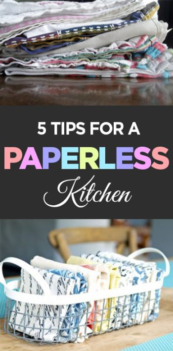5 Tips for a Paperless Kitchen