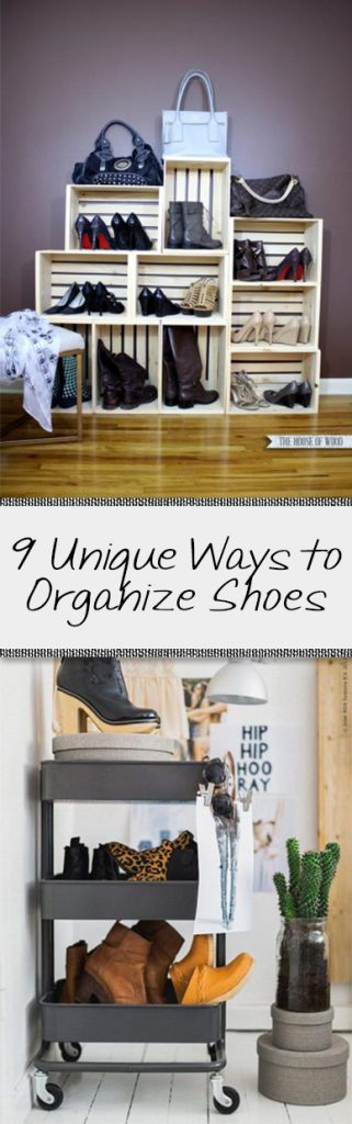 Organization, how to organize shoes, shoe organization, DIY organization, popular pin, small closet organization, easy organization, home organization, closet, DIY closet.