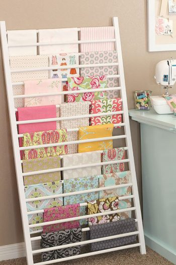 30 Ways to Organize Your Craft Room2