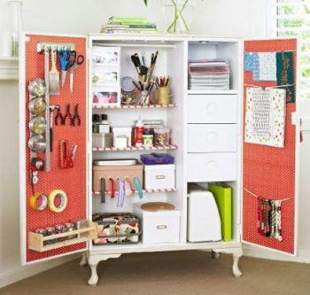 30 Ways to Organize Your Craft Room4