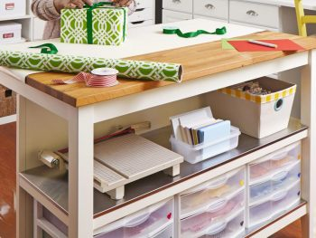 30 Ways to Organize Your Craft Room6