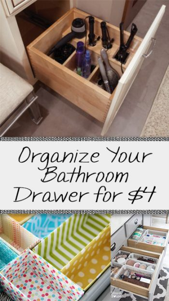 Bathroom, bathroom organization, easy bathroom organization, popular pin, bathroom hacks, home organization, DIY organization ideas.