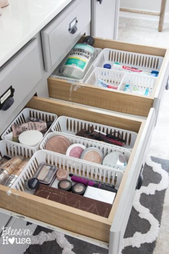 Organize Your Bathroom Drawer for $4