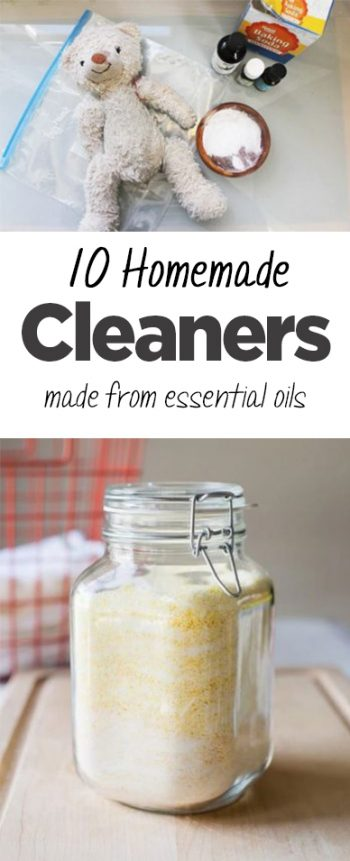 10 Homemade Cleaners Made from Essential Oils