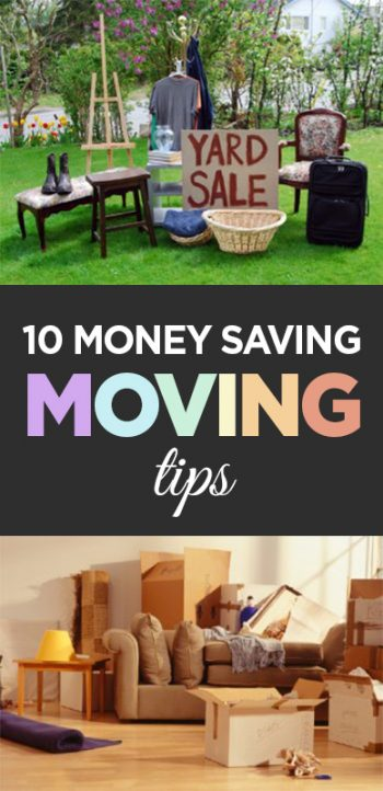 10 Money Saving Moving Tips