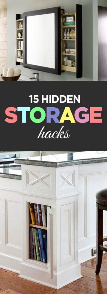 15 Hidden Storage Hacks