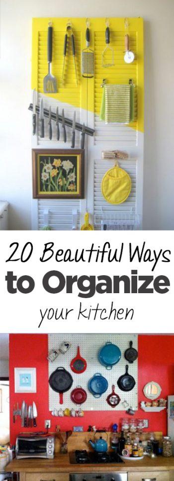 20 Beautiful Ways to Organize Your Kitchen (1)