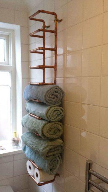 30 Brilliant Bathroom Storage DIYs3
