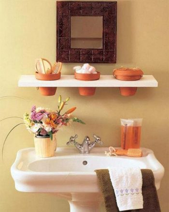 30 Brilliant Bathroom Storage DIYs6