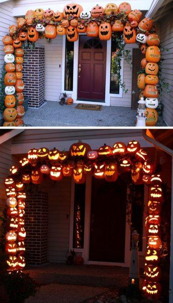 13 Spooky Halloween Porch Decorations10