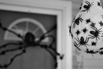 13 Spooky Halloween Porch Decorations2