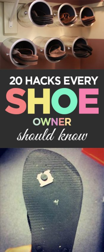 Shoe hacks, clothing hacks, life tips, life hacks, tips and tricks, popular pin, clothing ideas, clothing tips.