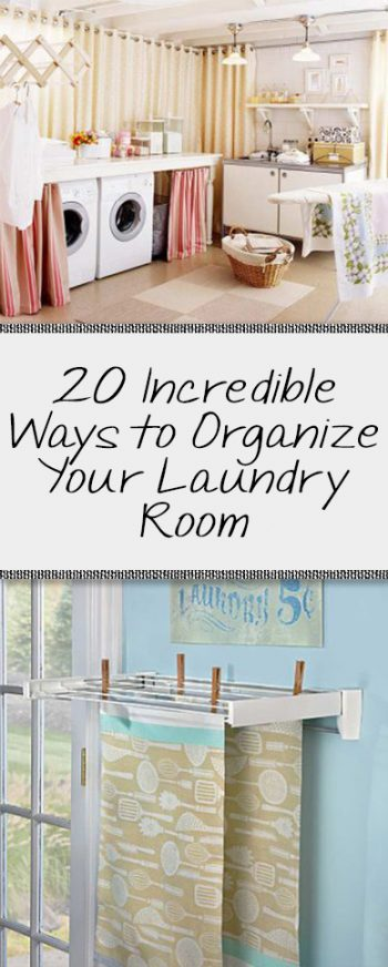 Laundry room, organization, laundry room organization, popular room hacks, DIY home, home organization.