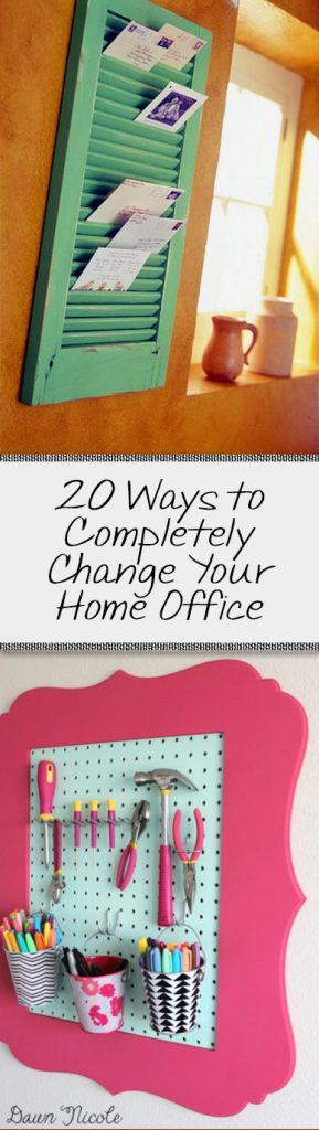 20 Ways to Completely Change Your Home Office