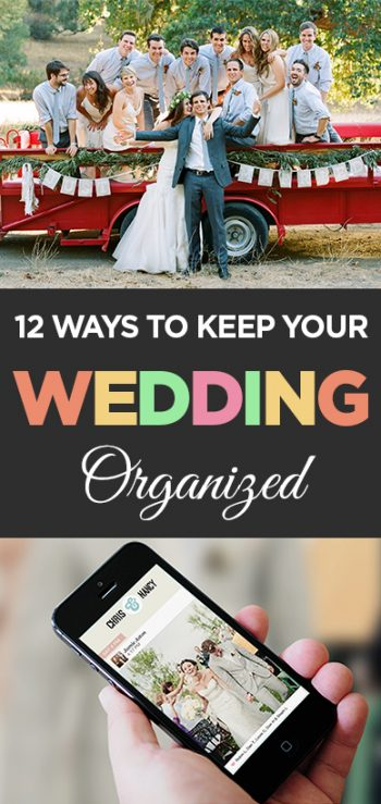 Wedding Organization, How to Organize Weddings, Keeping Your Wedding Organized, Popular Pin, Organization Hacks, Organization TIps and Tricks.