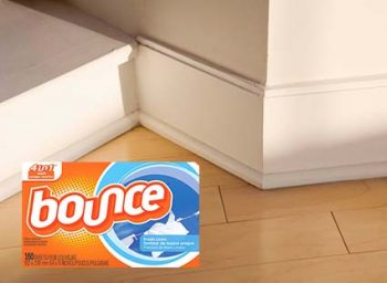 Baseboard and wooden floor - Cleaning Hacks