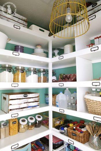 15 Kitchen Pantry Organization Ideas3