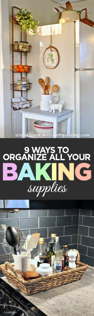 Baking supplies, DIY home, baking tips, kitchen organization, popular pin, DIY organization, organizing, organized home