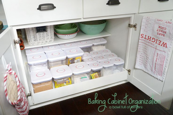 9 Ways to Organize ALL Your Baking Supplies8