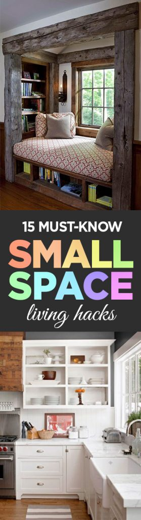 Small Space Living, Small Space Living Hacks, Organization, Organization Tips, Organization Hacks, Home Organization, Popular Pin, Home Organization Ideas.