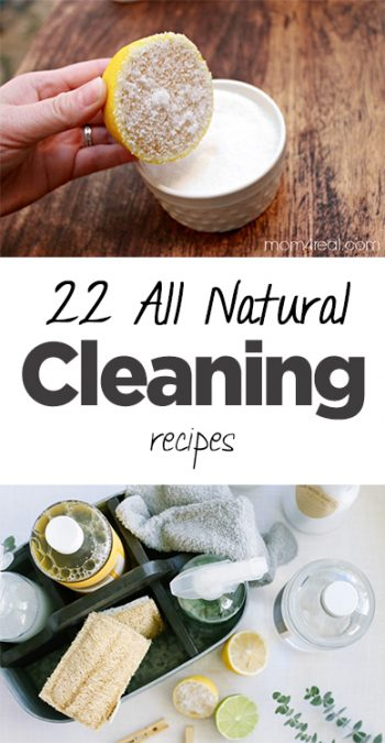 22 All Natural Cleaning Recipes