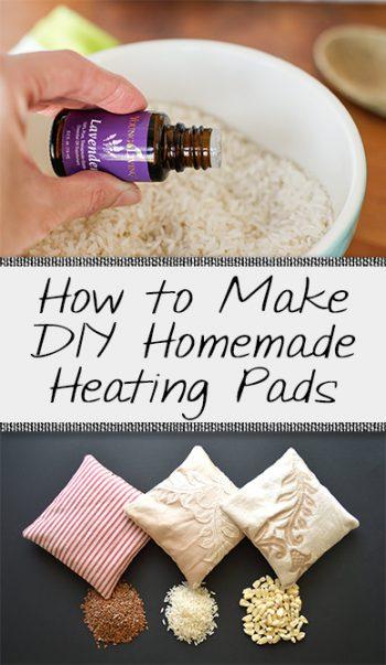 Homemade Heating Pads, How to Make Homemade Heating Pads, DIY Heating Pads, Easy Heating Pads, Heating Pads, Popular Pin,