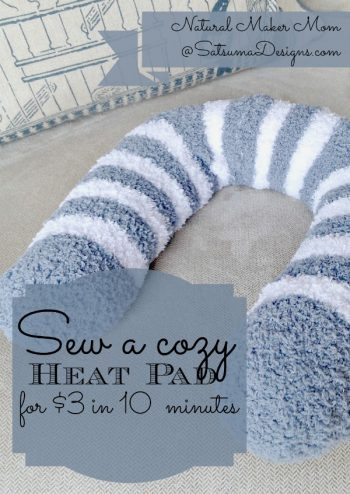 How to Make DIY Homemade Heating Pads3
