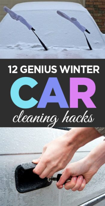 Winter Car Cleaning, Winter Car Care, How to Care for Your Car in The Winter, Winter Hacks, Winter Care, Winter Survival Hacks, Life Hacks, TIps and Tricks, Popular Pin