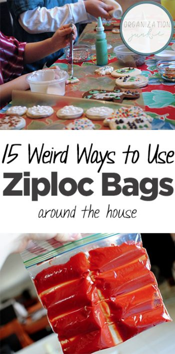 Things to Do With Ziploc Bags, Uses for Ziploc Bags, Life Hacks, Life Tips and Tricks, Cleaning Tips, Cleaning Hacks, Household Uses for Ziploc Bags, Popular Pin