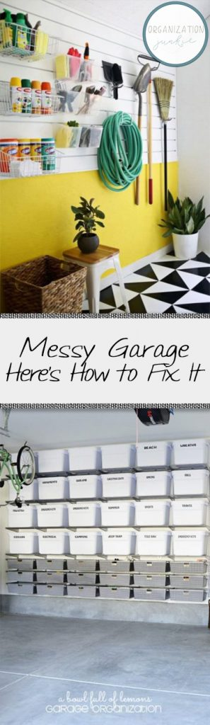 Garage Organization, How to Organize Your Garage, Garage Organization Tips and Tricks, Home Organization, Easy ways to Organize Your Home, How to Easily Organize Your Home, Clean Your Garage, How to Clean Your Garage